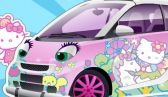Hello Kitty wagen