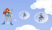 Winx bubble spel